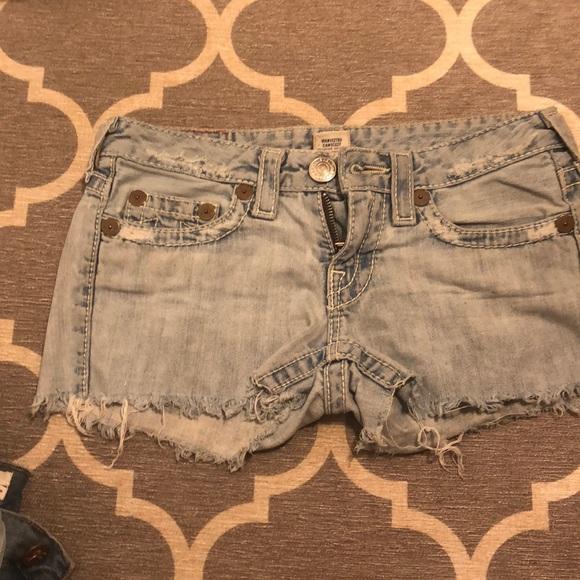 True Religion Pants - True Religion 27 shorts